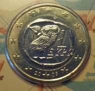 ===== 1 Euro Grêce 2009 étât BU ===== - Grecia