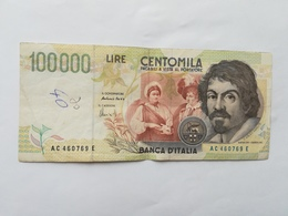 ITALIA 100000 LIRE 1994 - [ 2] 1946-… Republik