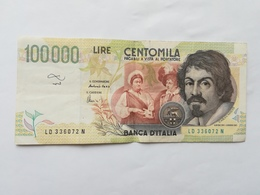 ITALIA 100000 LIRE 1994 - 100000 Lire