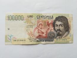 ITALIA 100000 LIRE 1994 - [ 2] 1946-… : Repubblica