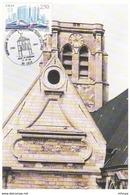 CL583 Cachet Comm. GF/ YvT 2811  Bicentenaire Liaison Télégraphique Chappe Lille Paris 17 09 1994  Lille - Marcofilia (sobres)