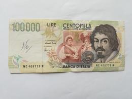 ITALIA 100000 LIRE 1994 - [ 2] 1946-… : República