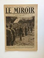 Le Miroir, Guerre 1914-1918 - Hebdomadaire N°97 - 3.10.1915 Le Monde En Guerre (The World At War) - Guerre 1914-18
