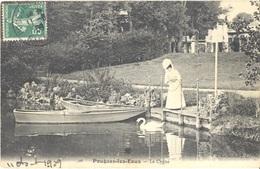 FRANCE. OLD POSTCARD. POUGUES LES EAUX. 1909 - Francia