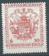 Chili    Yvert N° 268 ** -   Ah32414 - Chile