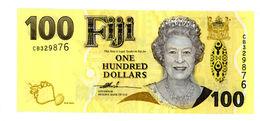 FIJI ISLANDS 114a - 100 Dollars 2007 UNC Prefix CC - Fiji