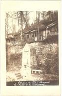 """Dépt 68 - HARTMANNSWILLER - Hartmannswillerkopf (""""VIEIL ARMAND"""") - CARTE-PHOTO - CANTINE - Le Chalet Et Le Monument - Autres Communes"""