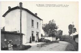 Cpa...la Bresse...Cormoranche-sur-Saone..(Ain)...la Poste Construite En 1914... - Frankrijk