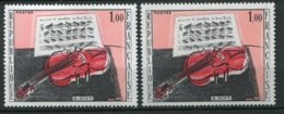 15967 FRANCE N°1459e**(Cérés) 1F R. Dufy : Partition Plus Grande + Normal (non Fourni)  1965  TB - Varieties: 1960-69 Mint/hinged