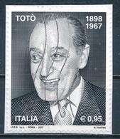 °°° ITALIA 2017 - TOTO' °°° - 6. 1946-.. República