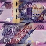 KENYA       100 Shilingi       P-New       2019       UNC - Kenia