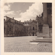 PHOTO ORIGINALE 39 / 45 WW2 WEHRMACHT FRANCE VERSAILLES VUE SUR LA COUR - Guerra, Militari