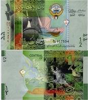 KUWAIT       ½ Dinar       P-30       ND (2014)       UNC  [ 1/2 - Half ] - Kuwait