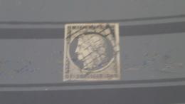 LOT 482254 TIMBRE DE FRANCE OBLITERE N°3 - 1849-1850 Cérès