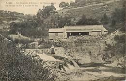- Gard -ref-A414- Saint Jean Du Pin - St Jean Du Pin - Baraquements Du Champ De Tir - Militaria - Cascades D Arène - - Autres Communes