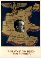 Ein Volk Ein Reich Ein Führer - Sonderstempel - Weltkrieg 1939-45