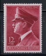 Deutsches Reich 1942 Mi. 813 Postfrisch 100% 12 Pf, Persönlichkeit, Berühmtheit - Deutschland