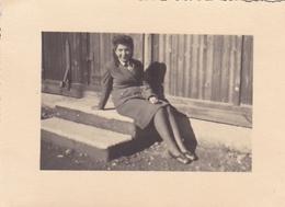 PHOTO ORIGINALE 39 / 45 WW2 WEHRMACHT ALLEMAGNE GERBACH JEUNE FILLE ALLEMANDE DU B.D.M - War, Military