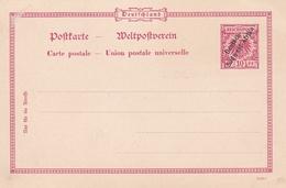 Entier Neuf De Colonies Deutsch-Sûdwest-Afrika - Colony: German South West Africa