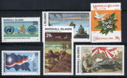 Marshallinseln 1991 Postfrisch 100% Krieg, Kultur, UN - Marshallinseln