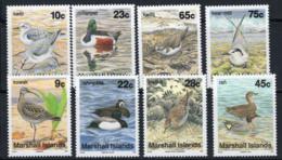 Marshallinseln 1992 Mi. 410-413,446-449 Postfrisch 100% Vögel - Marshallinseln