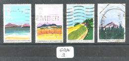 GRA YT 1071/1074 En Obl - 1952-.... (Elizabeth II)