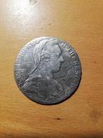Thaler Argent Theresia 1780 Autriche - Austria