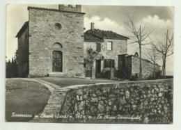 ROSENNANO IN CHIANTI ( SIENA )  LA CHIESA PARROCCHIALE - VIAGGIATA  FG - Siena