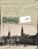 643814,Strasbourg Strassburg La Place Kleber Pub Cg. Hiller 88 - Ansichtskarten