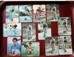 Cycle Gitanes - 1985 - 12x Pocket Calendar / Calendrier De Poche - Portugal - Ciclismo