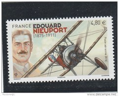 FRANCE 2016 NEUF EDOUARD NIEUPORT POSTE AERIENNE YT PA80 - PA 80 +BDF - 1960-.... Neufs
