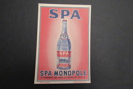 Spa Monopole Buvard - Spa