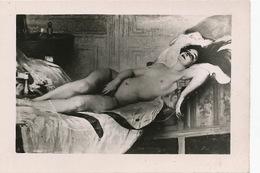 Nu Par Victor Tardieu Né à Orlienas Mort Hanoi. Ecole Beaux Arts Indochine . Format 6,5 Cm Par 9 Cms - Tableaux