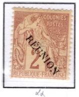Ex Colonie Française  *  La Réunion  *  Poste  18 N** - Réunion (1852-1975)
