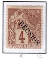 Ex Colonie Française  *  La Réunion  *  Poste  19 N* - Réunion (1852-1975)