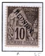 Ex Colonie Française  *  La Réunion  *  Poste  21  N* - Réunion (1852-1975)