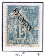 Ex Colonie Française  *  La Réunion  *  Poste  22 Obl - Isola Di Rèunion (1852-1975)