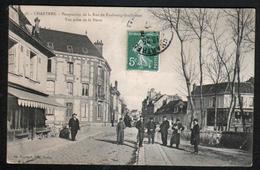 28, Chartres, Perspective De La Rue Du Faubourg Guillaume, Vue Prise De La Porte - Chartres