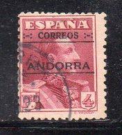 XP4615 - ANDORRA 1928 , Il N. 11  Usato. RARO - Andorra Spagnola