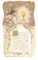 OCCITANIE PARAZA CHROMO SOUVENIR MAYNADIER 1905 ANGES DU CIEL IMAGE PIEUSE RELIGIEUSE HOLY CARD SANTINI HEILIG PRENTJE - Devotion Images