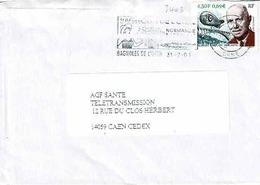 TP N ° 3403 Seul Sur Enveloppe De Bagnoles De L'Orne - Poststempel (Briefe)