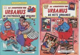 Linthou - Urbanus - Lot De 6 Album Urbanus - Loempia - Urbanus