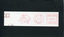 49686 China, Red Meter Freistempel Ema, 1994 UPU Union Postale UPU, (fragment  Of Cm 15x4) - Autres
