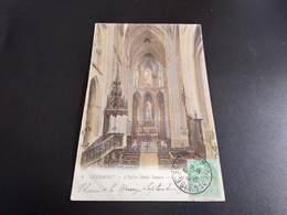 CPA (60) Clermont.   L'église Saint-Samson.La Nef.  (H.981). - Clermont