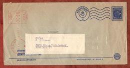 Vordruckbrief Landslotteriet, Absenderfreistempel, Oslo Nach Brake 1973 (82963) - Norwegen