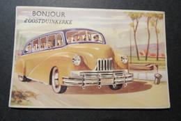 Bonjour D'Oostduinkerke Carte Pliable - Oostduinkerke