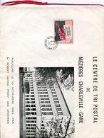 Ardennes.MEZIERES-CHARLEVILLE GARE. 1965. Inauguration Du Centre De Tri Postal - 1961-....