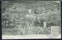 """Maroc - CPA """"Près De Dar Chafai - Une Grotte"""" - Cachet De Marrakech 1 Juillet 1913 - Ed. E. Limanton Casa - B/TB - - Marrakesh"""