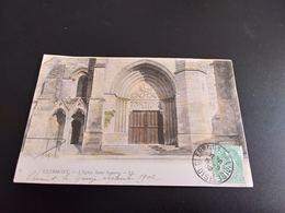 CPA (60) Clermont, L'église Saint-Samson.  Colorisée. (H.987). - Clermont