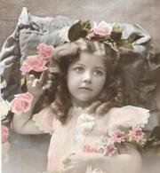 CPA.  ENFANT....ARTISTIQUE...  SAINT LOUIS....ELEGANCE...ANGLAISE... FLEUR.... TBE... SCAN - Retratos